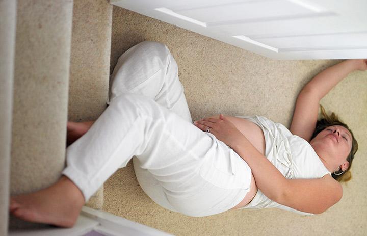 cadere in gravidanza
