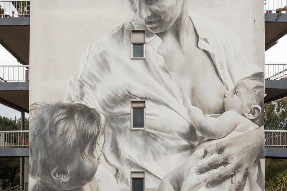 a-ragusa-unopera-di-street-art-per-celebrare-la-maternita