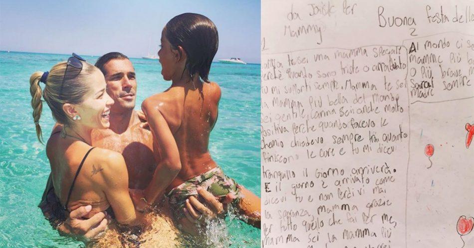 il-figlio-di-elena-santarelli-sconfigge-il-cancro-e-ringrazia-la-mamma-con-una-dolcissima-lettera