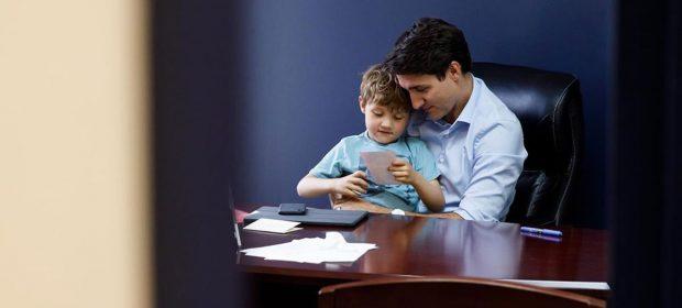 in-quarantena-coi-figli-la-giornata-del-premier-canadese-justin-trudeau