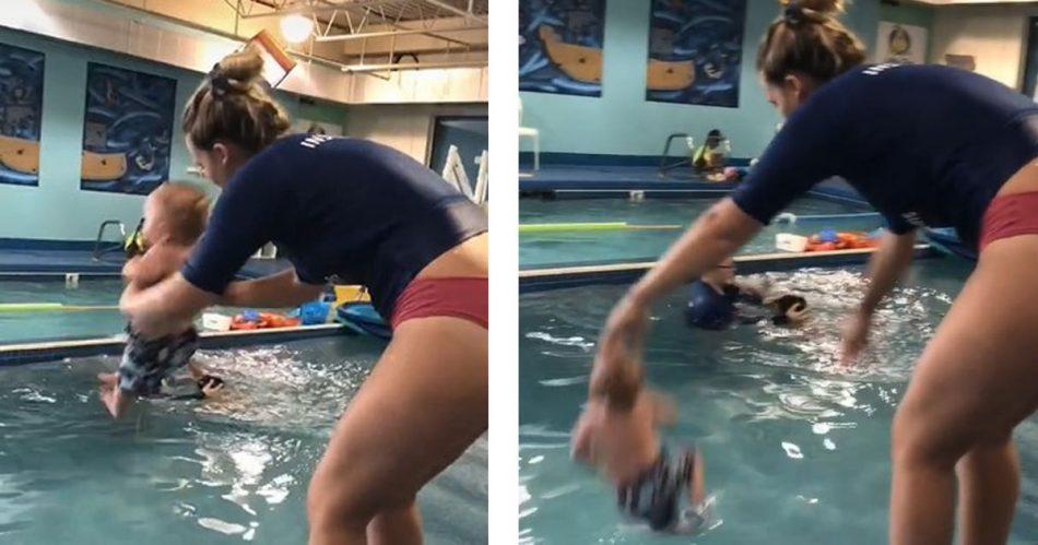 il-video-virale-del-neonato-gettato-in-piscina-scatena-il-dibattito