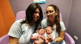 napoli-sorelle-gemelle-partoriscono-insieme
